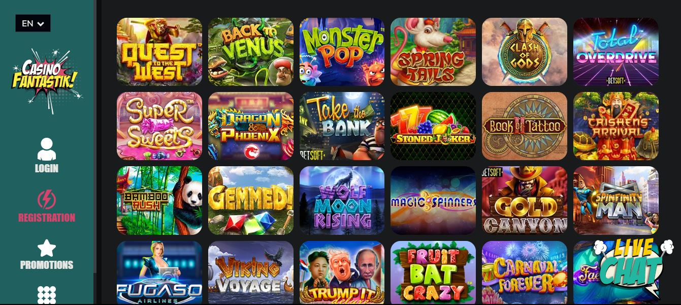 jeux fantastik casino
