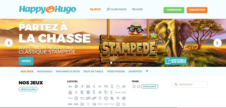 avis casino happy hugo