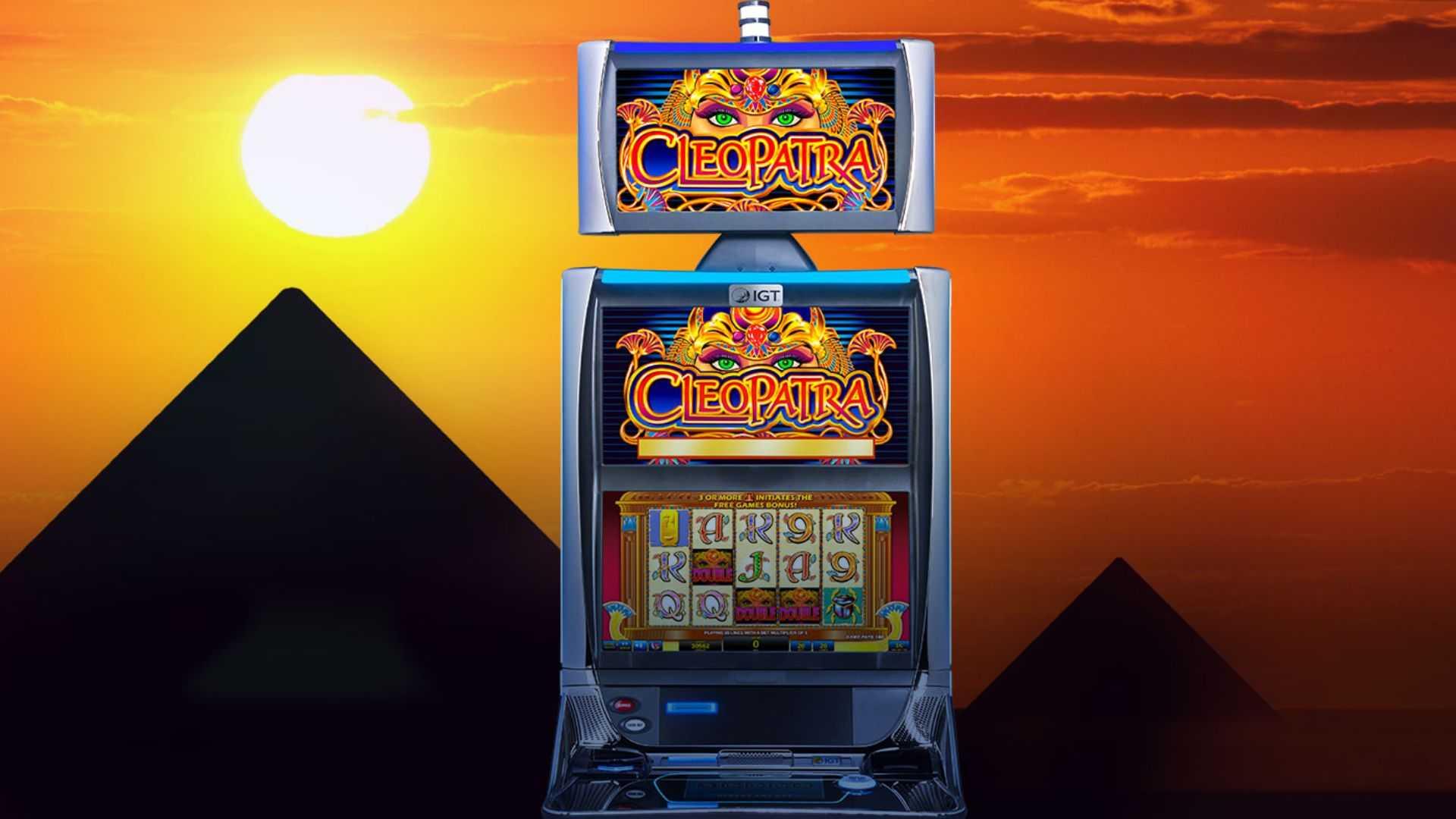 machine a sous cleopatra