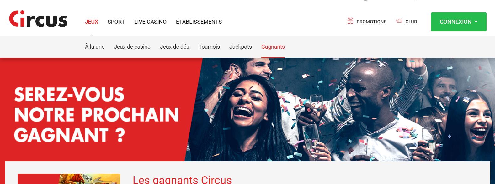 bonus circus