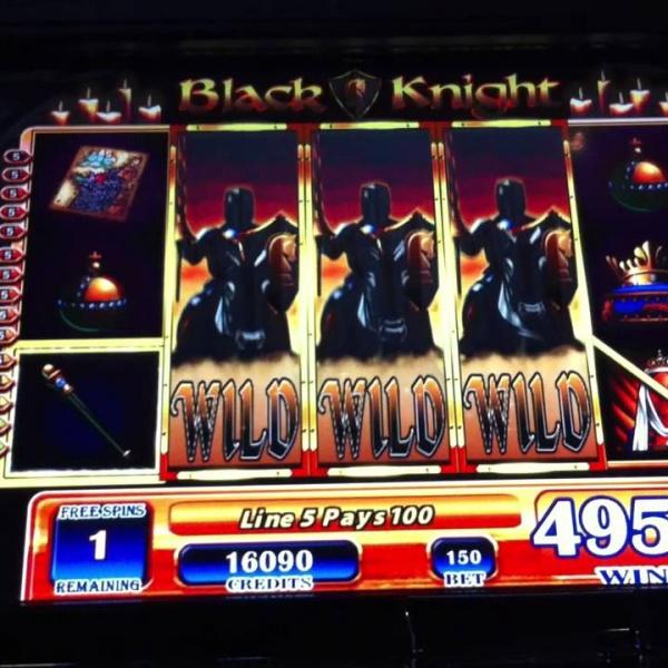 machine sous gratuite chevalier noir