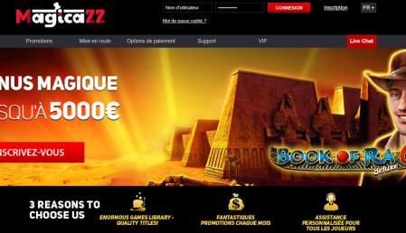 magicazz casino avis