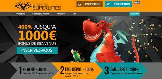 bonus proposes casino en ligne superlines