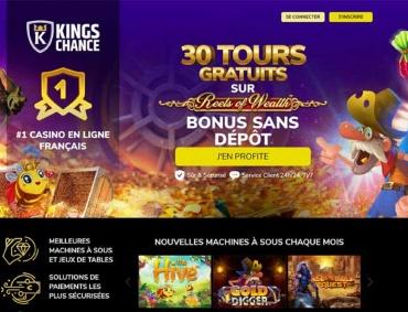 kings chance casino avis