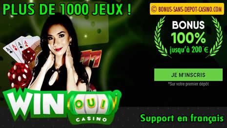 presentation de Winoui casino